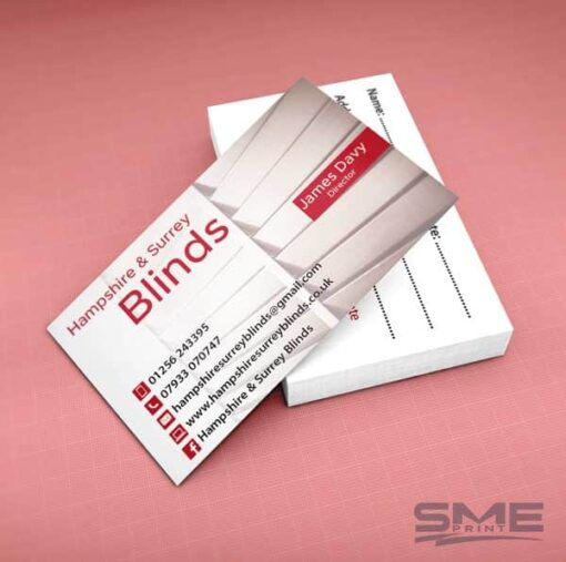 Business cards with design