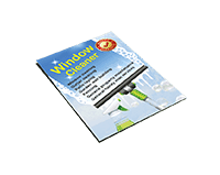 A6 leaflets with design