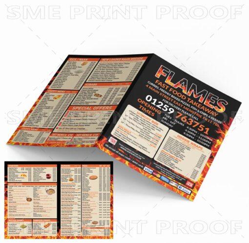 Takeaway-menu-printing