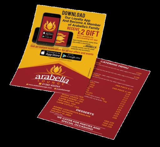Premium Leaflets printing