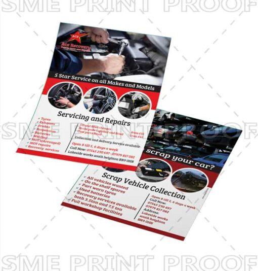 A5 Leaflets printing